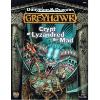 Crypt of Lyzandred the Mad (AD&D 2ème édition révisée - Greyhawk) 001