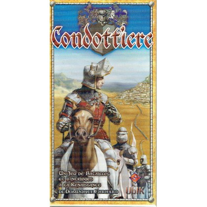 Condottiere (jeu de stratégie 3ème édition UBIK en VF) 001