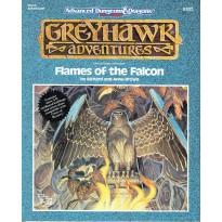 WGA3 Flames of the Falcon (AD&D 2ème édition - Greyhawk Adventures) 001