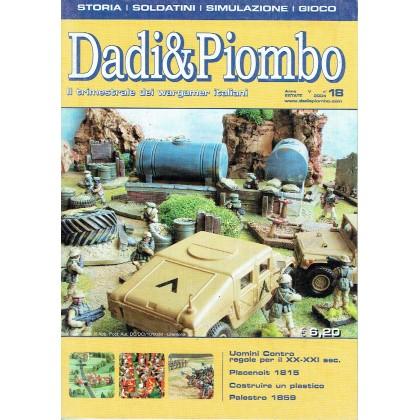 Dadi & Piombo N° 18 (Il trimestrale dei wargamer italiani) 001