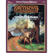 WGR1 Greyhawk Ruins (AD&D 2ème édition - Greyhawk Adventures) 001