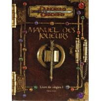 Manuel des Joueurs - Livre de Règles I (jdr Dungeons & Dragons 3.0 en VF)