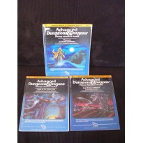 Lot Desert of Desolation Series - Modules I3 - I4 - I5 (jdr AD&D 1ère édition en VO)