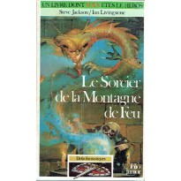 252 - Le Sorcier de la Montagne de Feu (Un livre dont vous êtes le Héros) 001