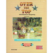 Over the Top - WWI Miniatures Wargaming (livre de règles Command Decision en VO)