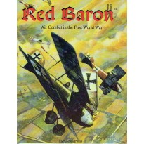 Red Baron - Air Combat in the First World War (livre de règles combats aériens WW1 en VO) 001