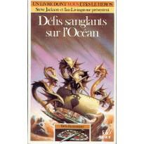 350 - Défis sanglants sur l'Océan (Un livre dont vous êtes le Héros - Gallimard) 001