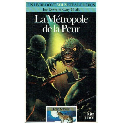 472 - La Métropole de la Peur (Un livre dont vous êtes le Héros - Gallimard) 002