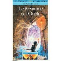 384 - Le Royaume de l'Oubli (Un livre dont vous êtes le Héros - Gallimard) 001