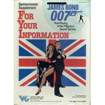 For Your Information (James Bond Rpg en VO)