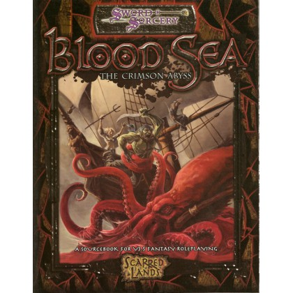 Scarred Lands - Bood Sea - The Crimson Abyss  001 (Sword & Sorcery en VO)