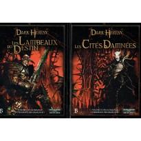 """Dark Heresy - Lot 2 volumes Trilogie """"L'Héritage des Haarlock"""" (jdr en VF)"""