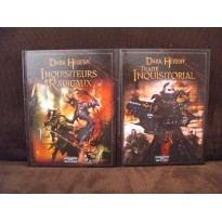 "Dark Heresy - Lot 2 livres ""Traité Inquisitorial"" & ""Inquisiteurs & Radicaux"" (jdr en VF)"