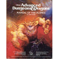 Manual of the Planes (jdr AD&D 1ère édition en VO) 003