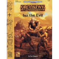 WGR5 Iuz the Evil (AD&D 2ème édition - Greyhawk Adventures) 001