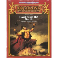 WGS2 Howl from the North (AD&D 2ème édition - Greyhawk Adventures) 001