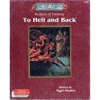 Realms of Fantasy - To Hell and Back (boîte jdr Role Aids & AD&D en VO) 001