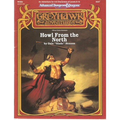 WGS2 Howl from the North (AD&D 2ème édition - Greyhawk Adventures) 002