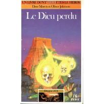 317 - Le Dieu perdu (Un livre dont vous êtes le Héros - Gallimard) 003