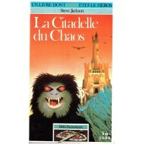 268 - La Citadelle du Chaos (Un livre dont vous êtes le Héros - Gallimard) 001