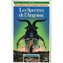 383 - Les Spectres de l'Angoisse (Un livre dont vous êtes le Héros - Gallimard) 001
