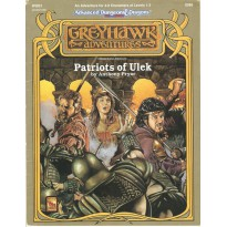 WGQ1 Patriots of Ulek (AD&D 2ème édition - World of Greyhawk) 002