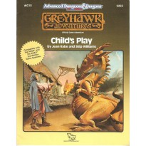 WG10 Child's Play (AD&D 2ème édition - World of Greyhawk) 001