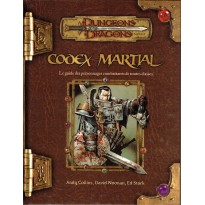 Codex Martial (jdr Dungeons & Dragons 3.5 en VF) 002