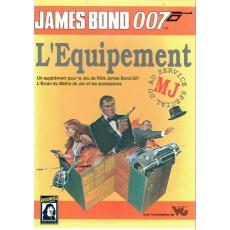 L'Equipement (boîte de jdr James Bond 007 en VF)