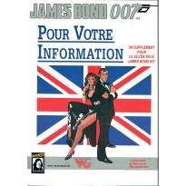Pour Votre Information (jeu de rôle James Bond 007 en VF) 005