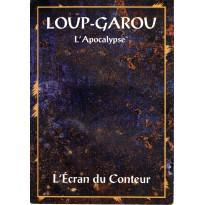L'Ecran du Conteur & bloc de feuilles de PJ (jdr Loup-Garou L'Apocalypse en VF) 001