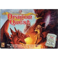 Dragon Quest Game (jeu de plateau Dungeons & Dragons en VO de TSR)