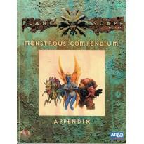 Planescape - Monstrous Compendium - Appendix (jdr AD&D 2ème édition en VO) 002