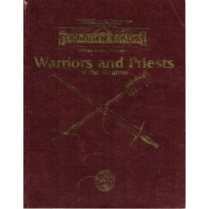 Warriors and Priests of the Realms (jdr AD&D 2 - Forgotten Realms en VO) 002
