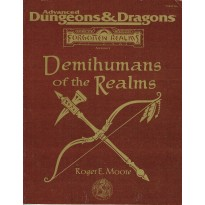 Demihumans of the Realms (jdr AD&D 2 - Forgotten Realms en VO) 001