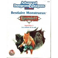 Ravenloft - Bestiaire Monstrueux- Appendice 3 (jdr AD&D 2ème édition en VF)
