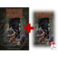 Barbarians of Lemuria - Jeu de rôle Edition Mythic en VF (livre formats papier et pdf)