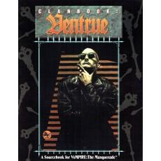 Clanbook - Ventrue (Vampire The Masquerade jdr en VO)