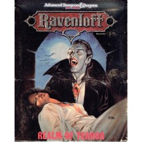 Ravenloft - Realm of Terror Boxed Set (jeu de rôle AD&D 2ème édition en VO) 001