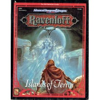 Ravenloft - RR4 Islands of Terror (jeu de rôle AD&D 2ème édition en VO) 001