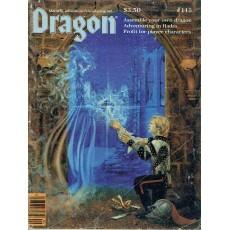 Dragon Magazine N° 113 (magazine de jeux de rôle en VO)