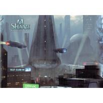 Shaan Renaissance - Ecran du Meneur de Jeu, livret + carte Héossie (jdr en VF) 001