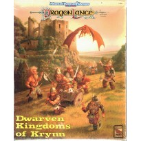 Dragonlance - Dwarven Kingdoms of Krynn - Box Set (jdr AD&D 2ème édition) 002
