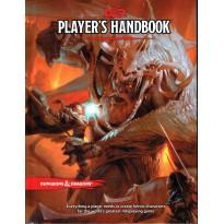 Player's Handbook + bonus (jdr Dungeons & Dragons 5 en VO) L072
