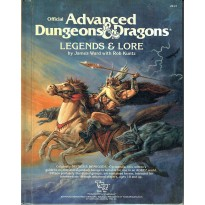 Legends & Lore (jdr AD&D 1ère édition en VO) 003