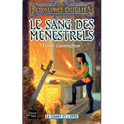 Le Sang des Ménestrels (roman Les Royaumes Oubliés en VF) 001