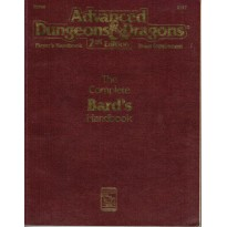 The Complete Bard's Handbook (jdr AD&D 2ème édition VO) 002