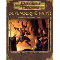 Defenders of the Faith (jdr Dungeons & Dragons 3.0 en VO) 001