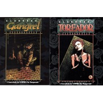Lot Clanbooks - Gangrel & Toreador (jdr Vampire The Masquerade jdr en VO)