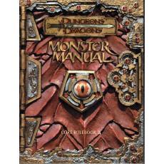 Monster Manual - Core Rulebook III (jdr D&D 3.0 en VO)
